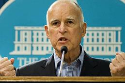 Image result for jerry brown